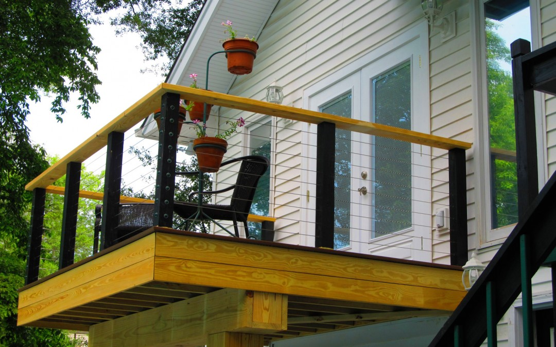 Custom Deck and Railing