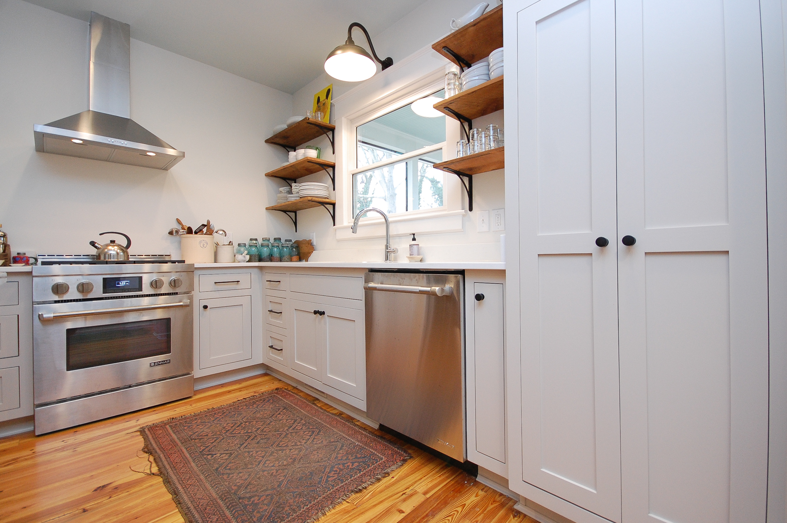 Downtown Two Story Addition Kitchen