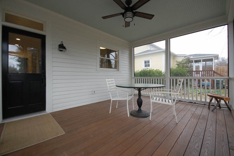 Downtown Two Story Addition Screen Porch