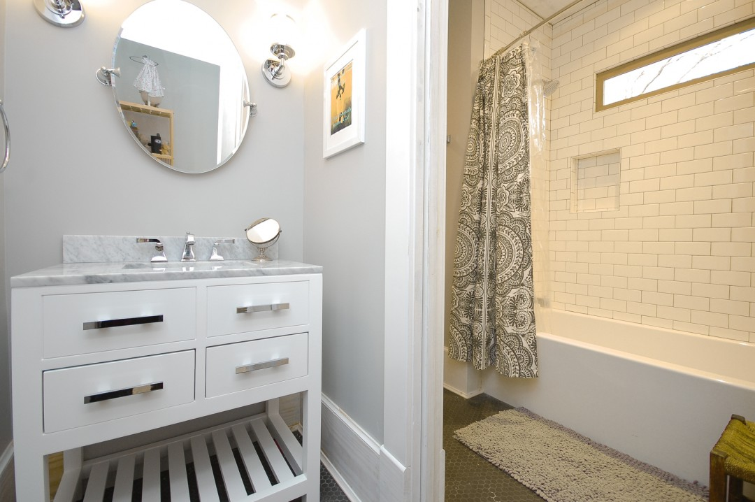 Downtown Two Story Addition Bathrooms