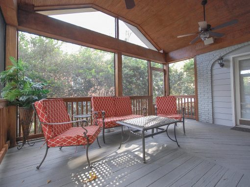 Screened Porch for Historic Home