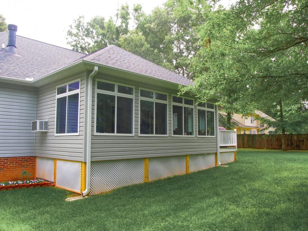 Pergolas decks solid construction for Building a sunroom addition