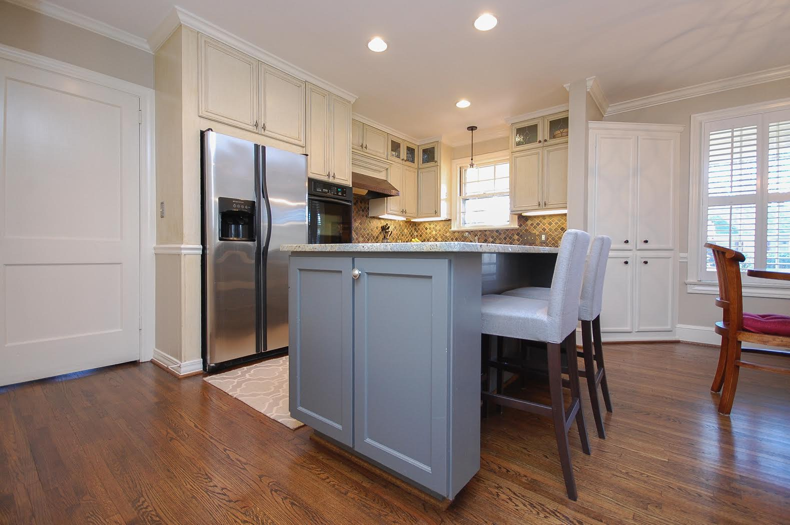Kitchen Near Downtown Greenville | Solid Construction